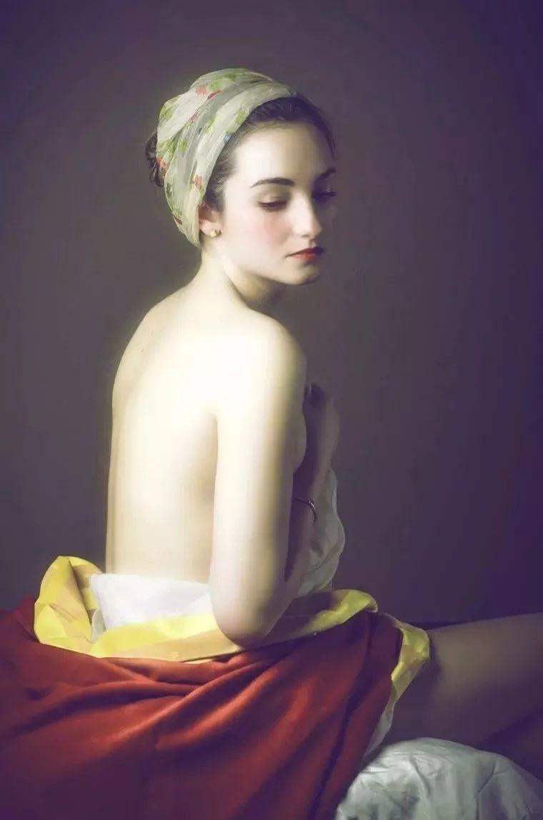 美得像油画——丰腴女人体摄影插图31