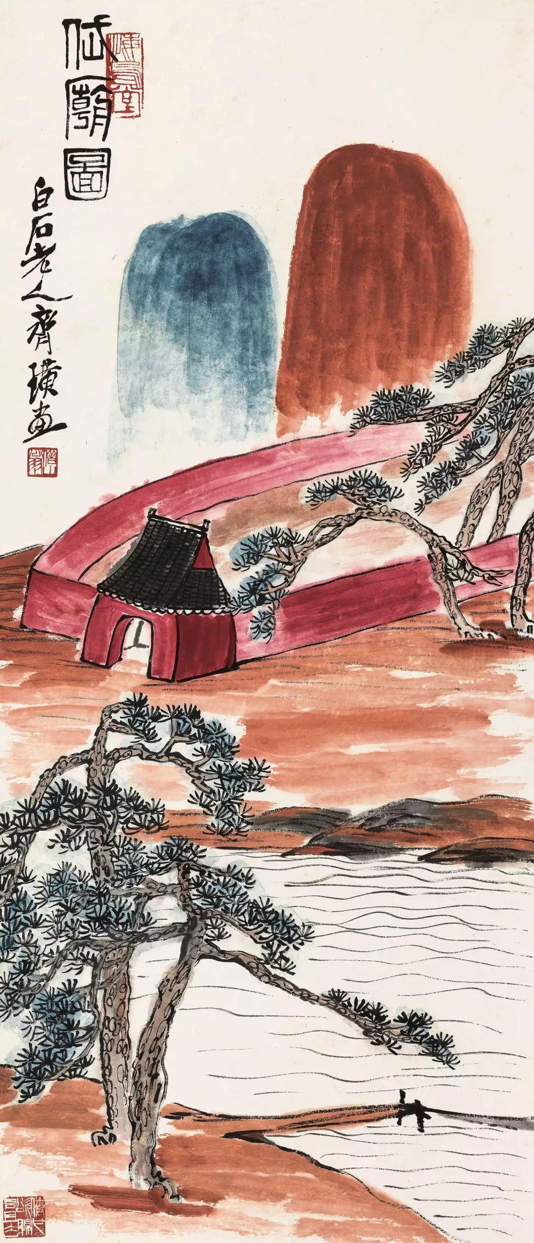 1.4375亿元!吴冠中《狮子林》创其中国画最高价纪录!插图8