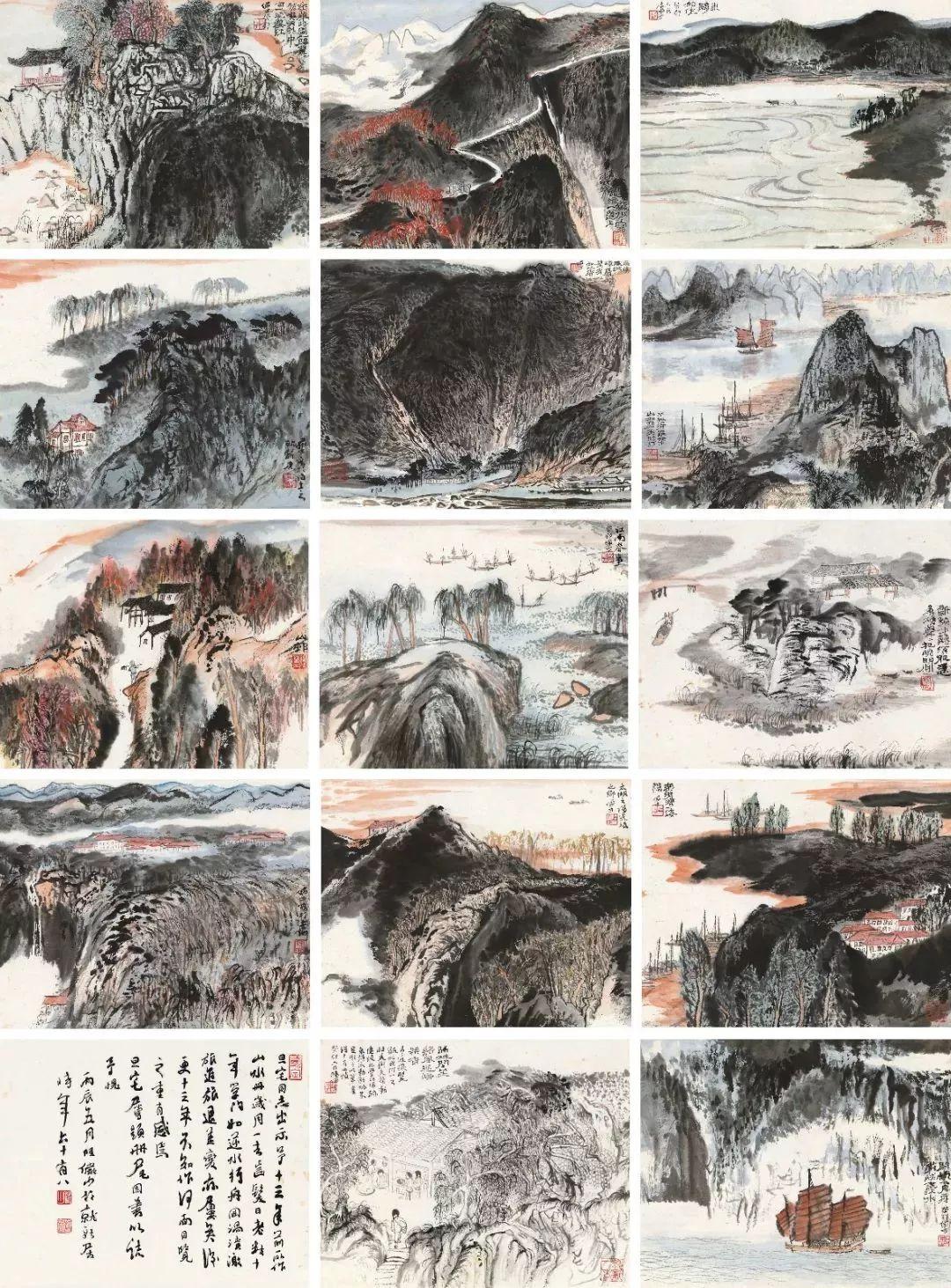 1.4375亿元!吴冠中《狮子林》创其中国画最高价纪录!插图10