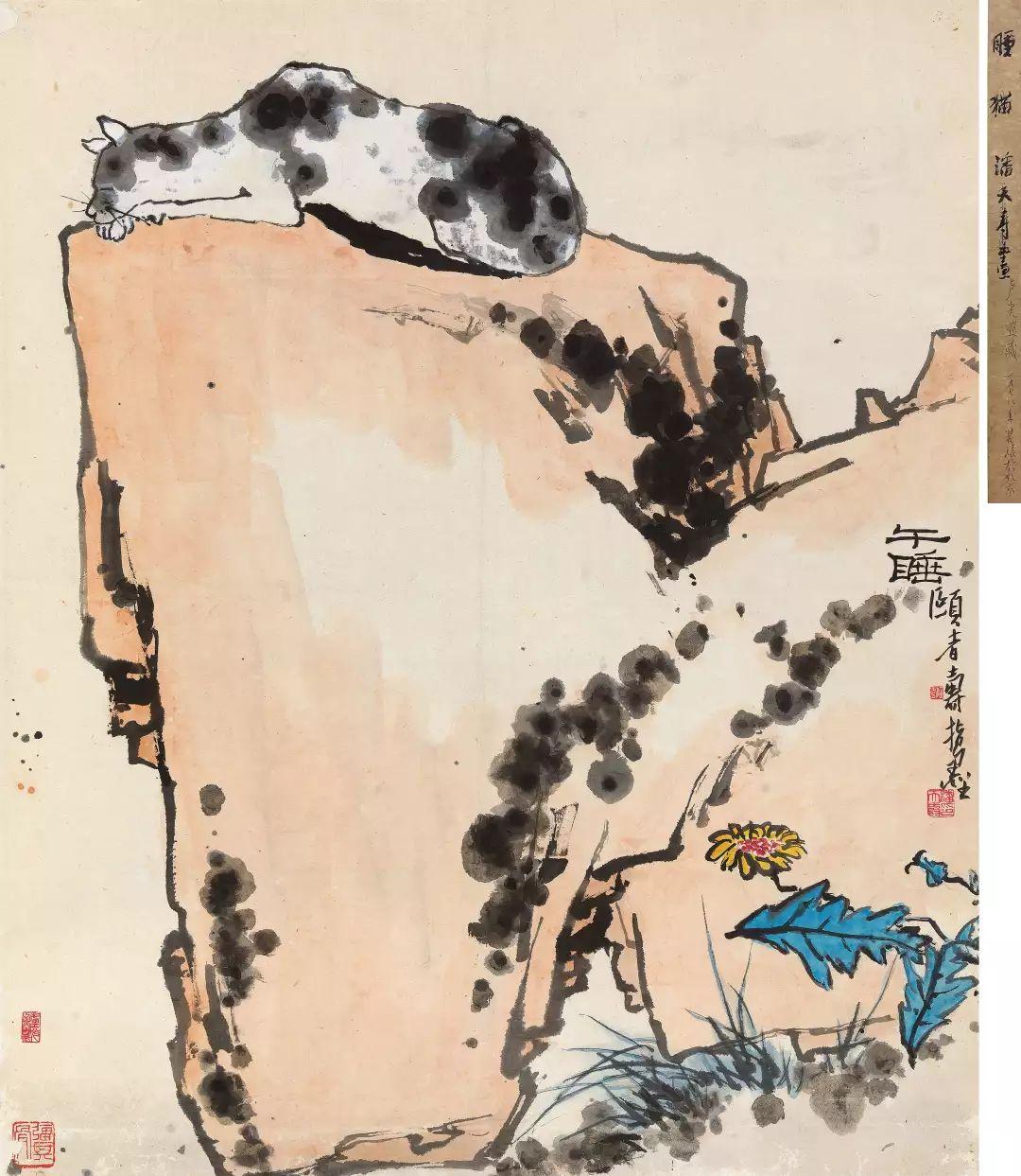 1.4375亿元!吴冠中《狮子林》创其中国画最高价纪录!插图11