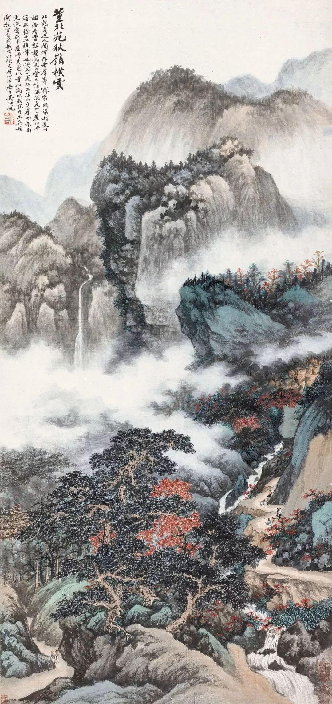 1.4375亿元!吴冠中《狮子林》创其中国画最高价纪录!插图12