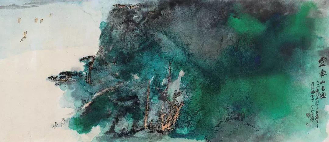 1.4375亿元!吴冠中《狮子林》创其中国画最高价纪录!插图14