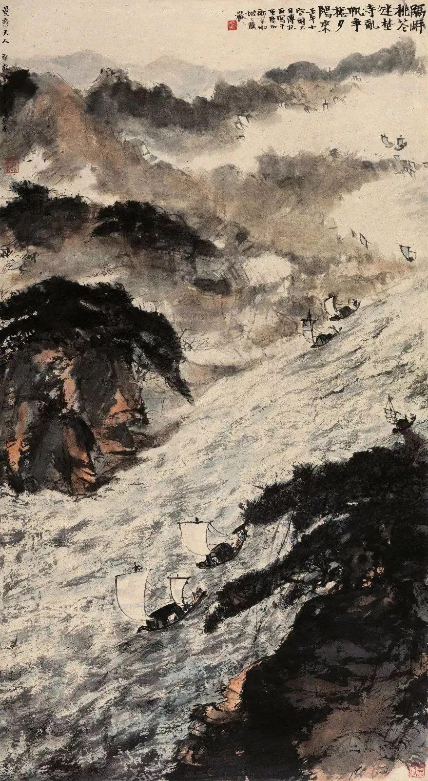 1.4375亿元!吴冠中《狮子林》创其中国画最高价纪录!插图15