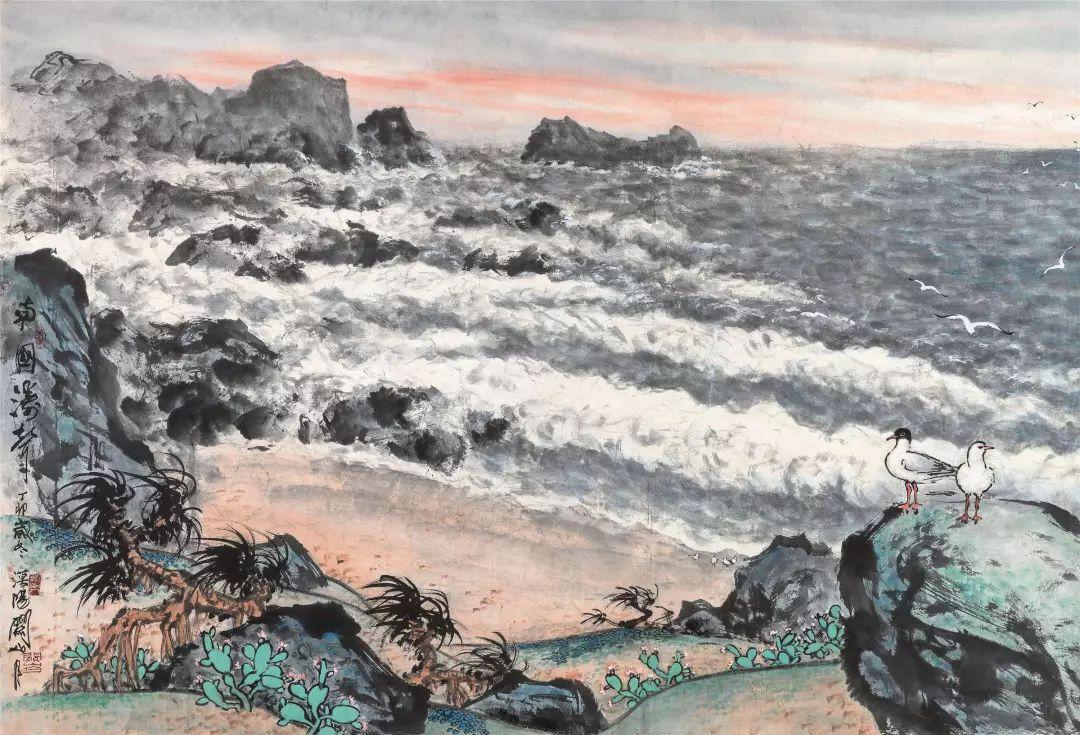 1.4375亿元!吴冠中《狮子林》创其中国画最高价纪录!插图19
