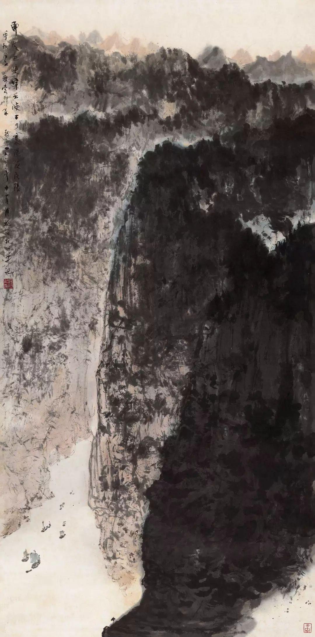 1.4375亿元!吴冠中《狮子林》创其中国画最高价纪录!插图26