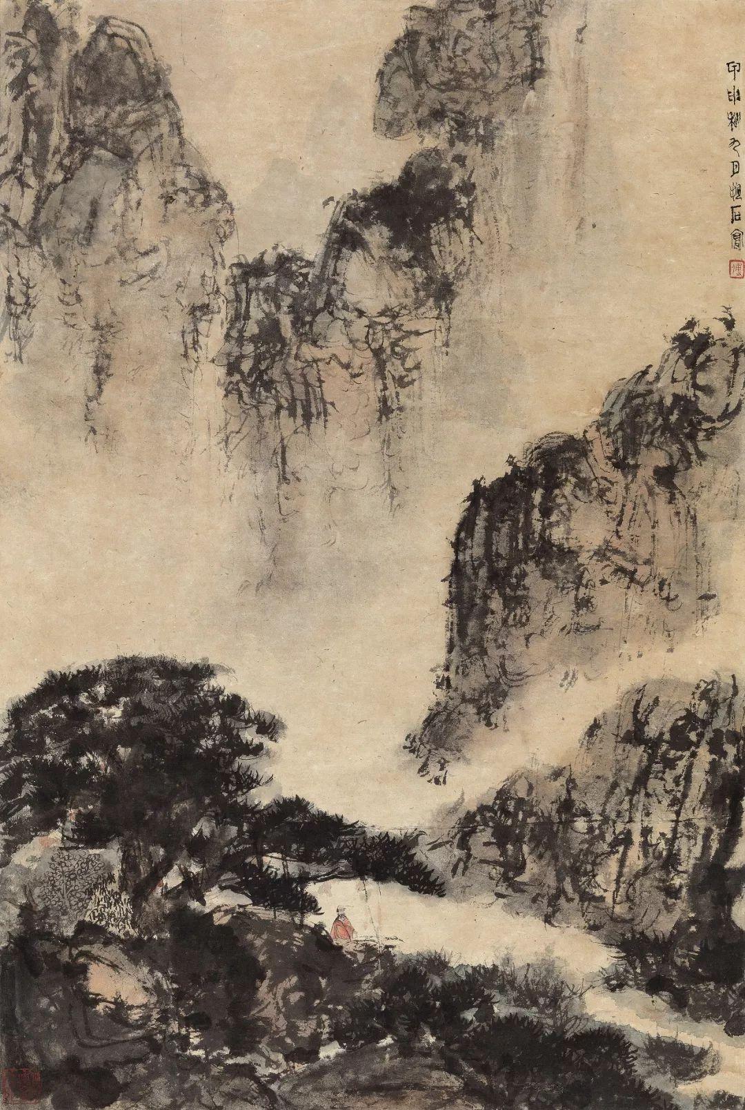 1.4375亿元!吴冠中《狮子林》创其中国画最高价纪录!插图31