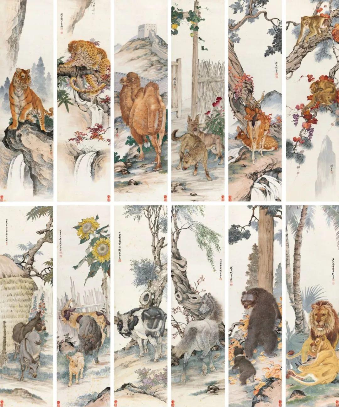 1.4375亿元!吴冠中《狮子林》创其中国画最高价纪录!插图34