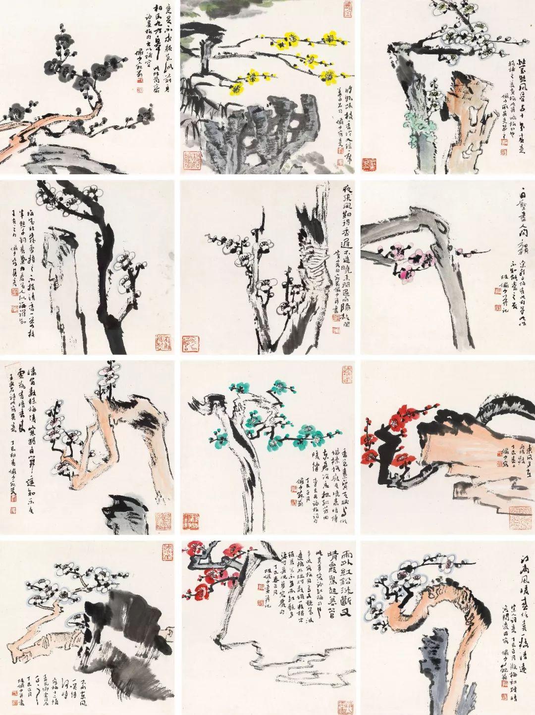 1.4375亿元!吴冠中《狮子林》创其中国画最高价纪录!插图35