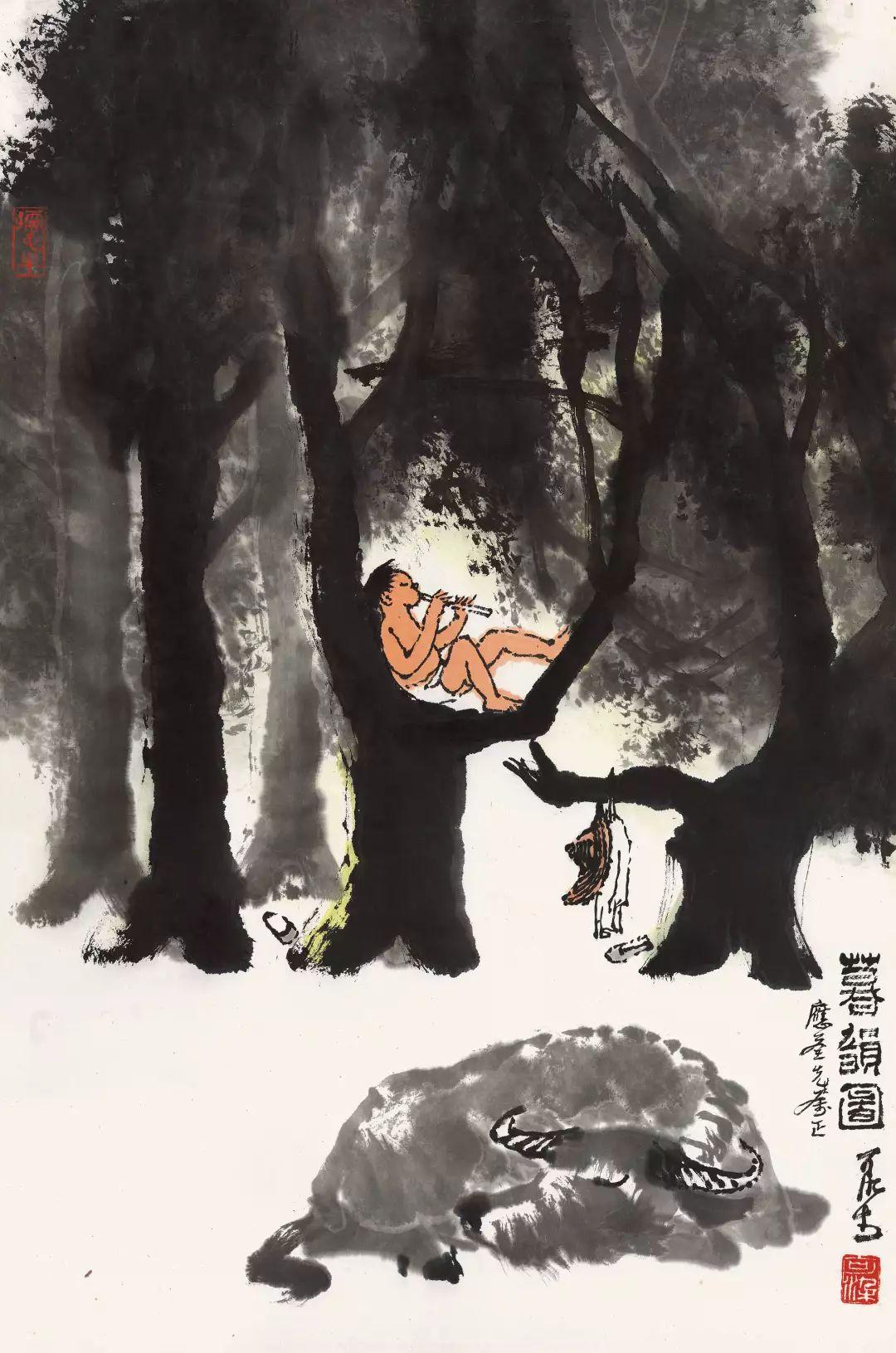 1.4375亿元!吴冠中《狮子林》创其中国画最高价纪录!插图36