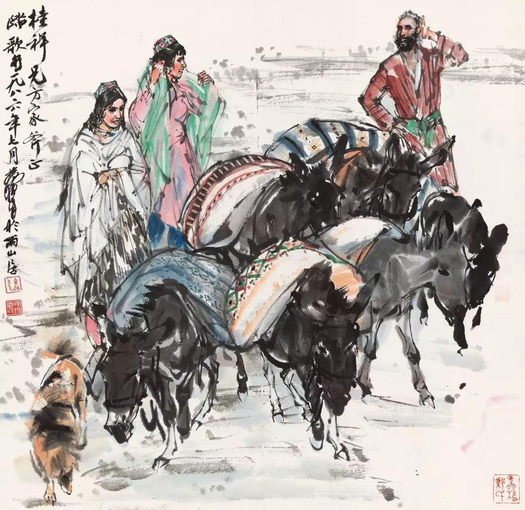 1.4375亿元!吴冠中《狮子林》创其中国画最高价纪录!插图44