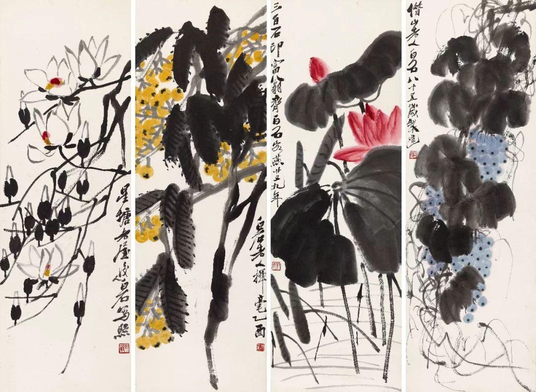 1.4375亿元!吴冠中《狮子林》创其中国画最高价纪录!插图46