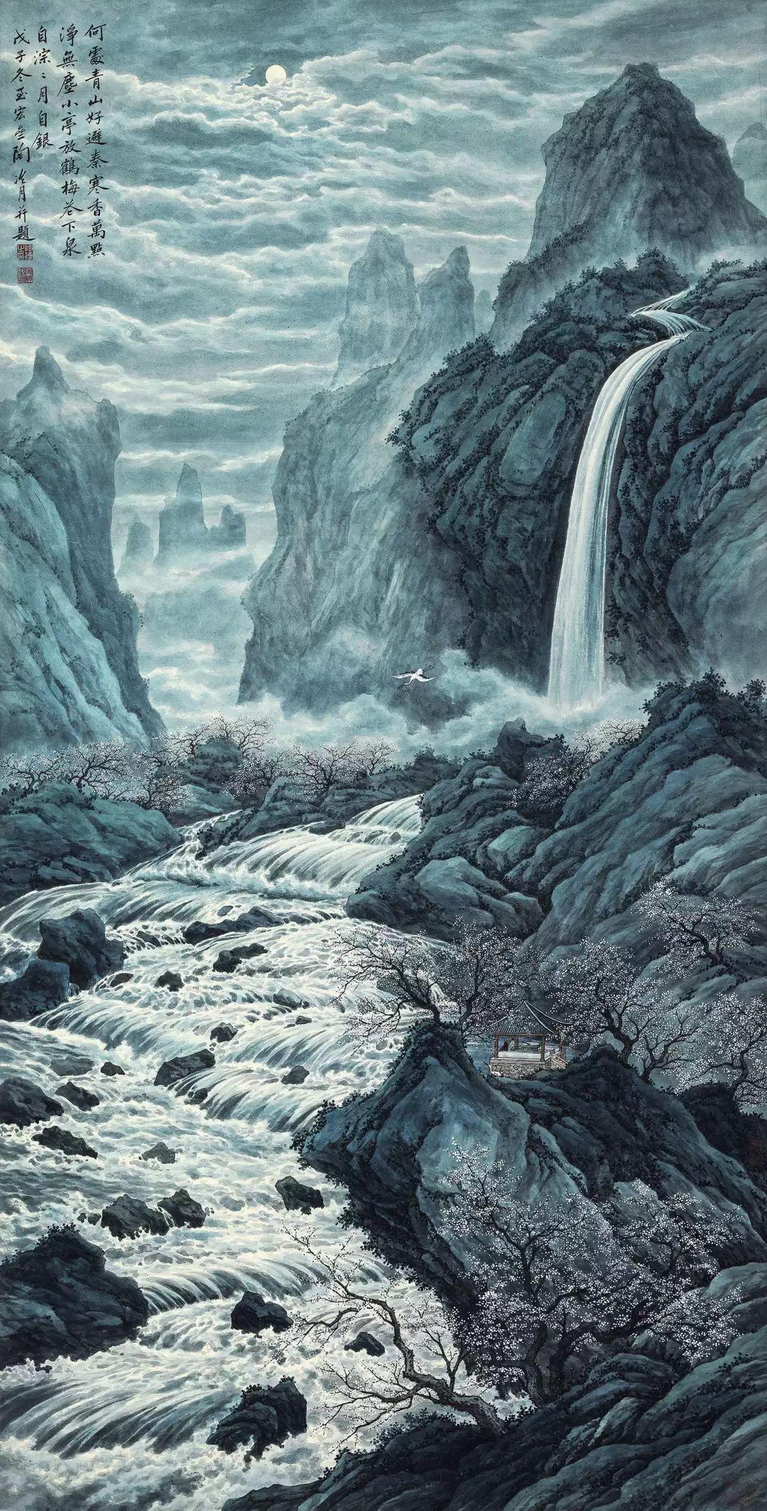 1.4375亿元!吴冠中《狮子林》创其中国画最高价纪录!插图47