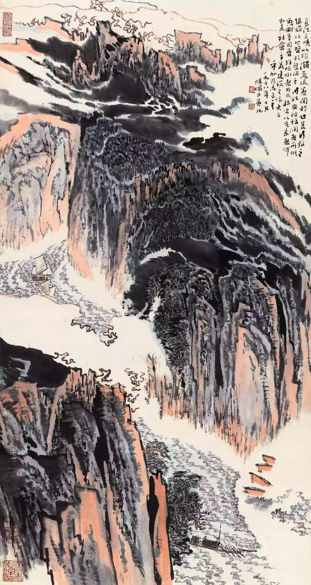 1.4375亿元!吴冠中《狮子林》创其中国画最高价纪录!插图57