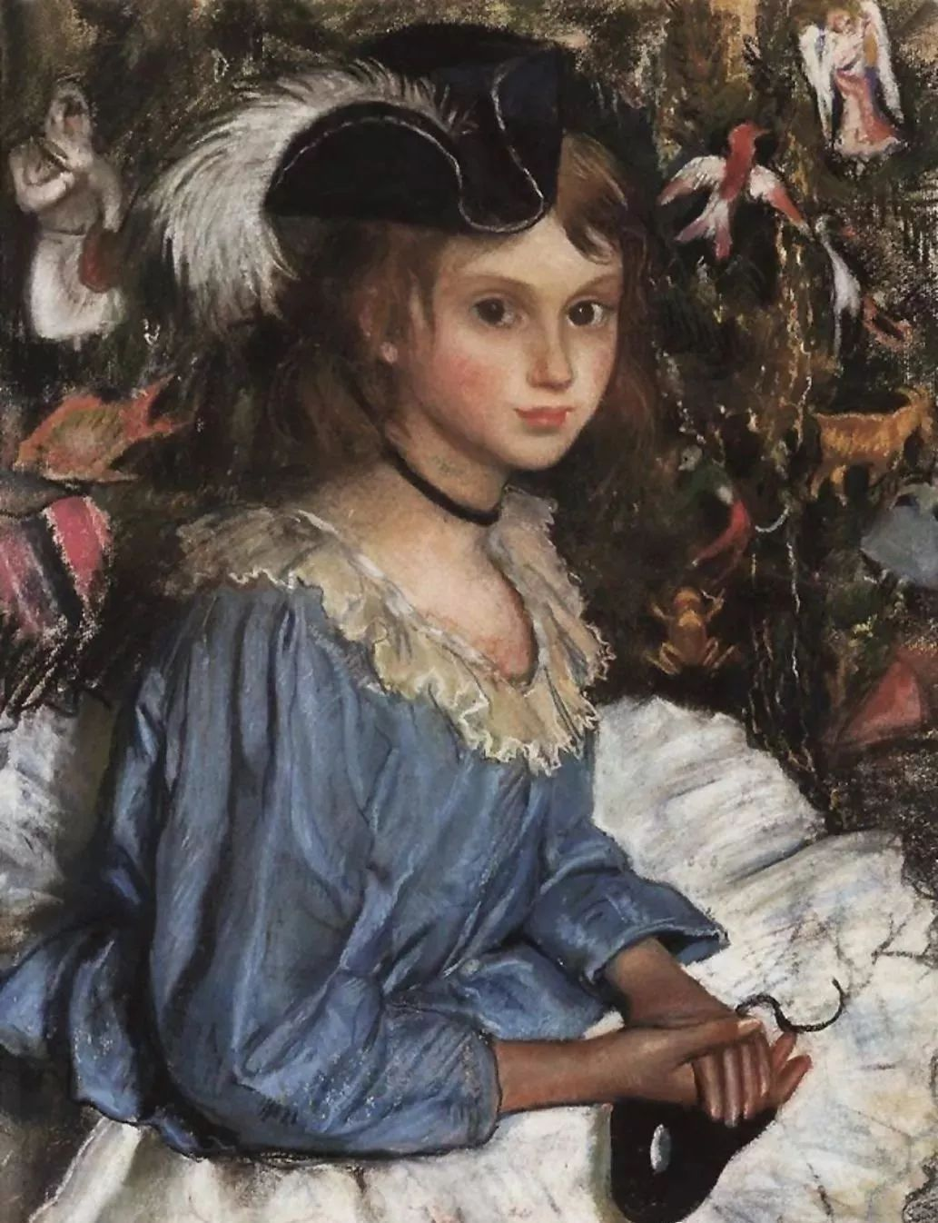 俄罗斯第一位女性画家Zinaida Serebriakova插图1