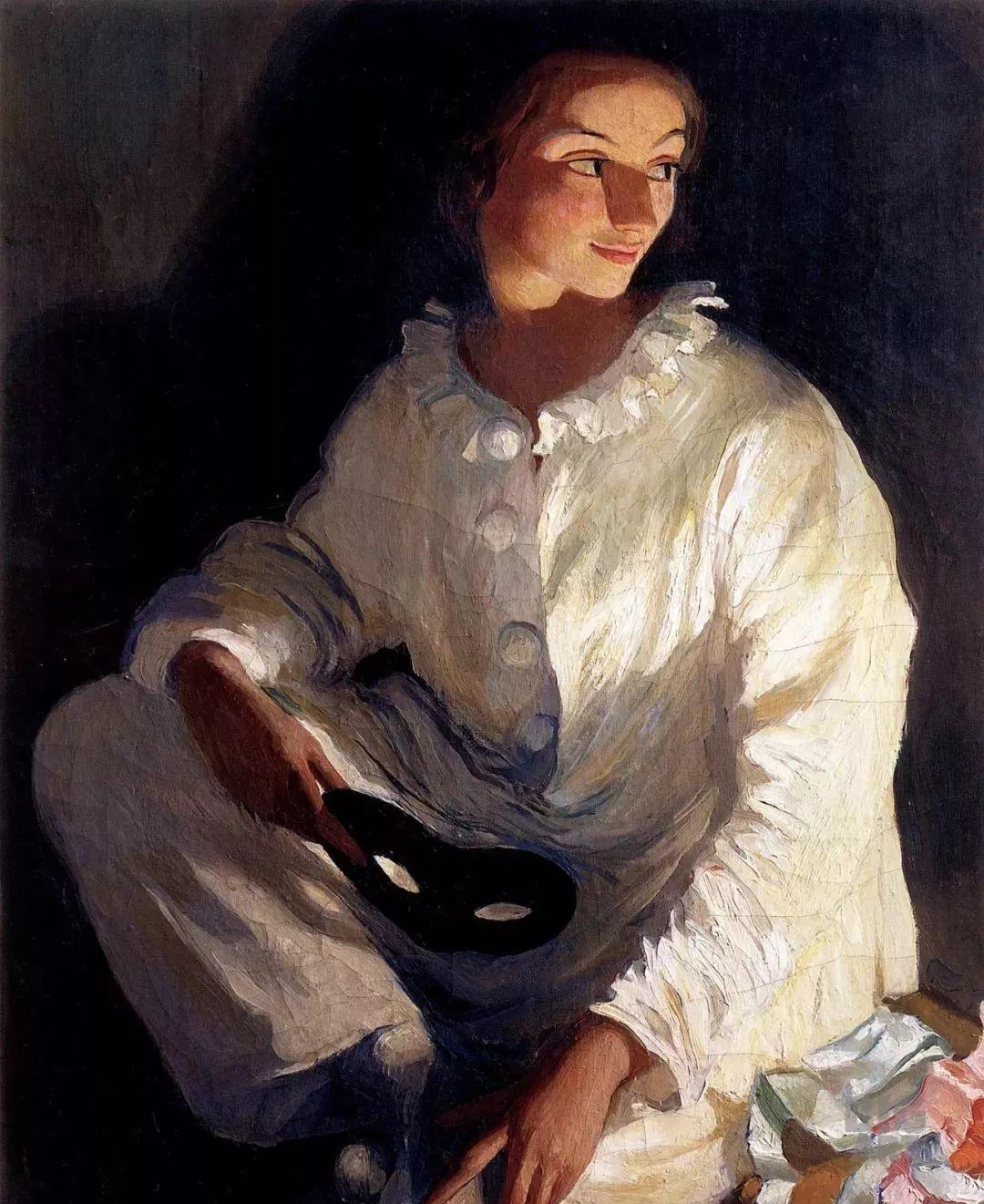 俄罗斯第一位女性画家Zinaida Serebriakova插图3