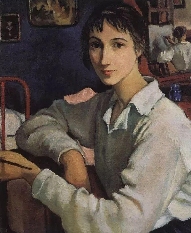 俄罗斯第一位女性画家Zinaida Serebriakova插图9