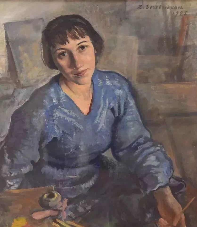 俄罗斯第一位女性画家Zinaida Serebriakova插图11