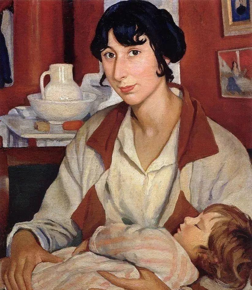 俄罗斯第一位女性画家Zinaida Serebriakova插图13