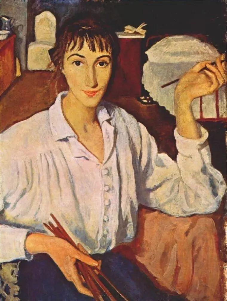 俄罗斯第一位女性画家Zinaida Serebriakova插图15