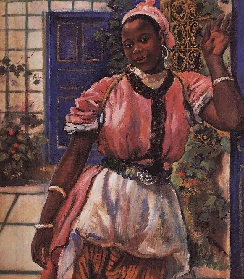 俄罗斯第一位女性画家Zinaida Serebriakova插图17