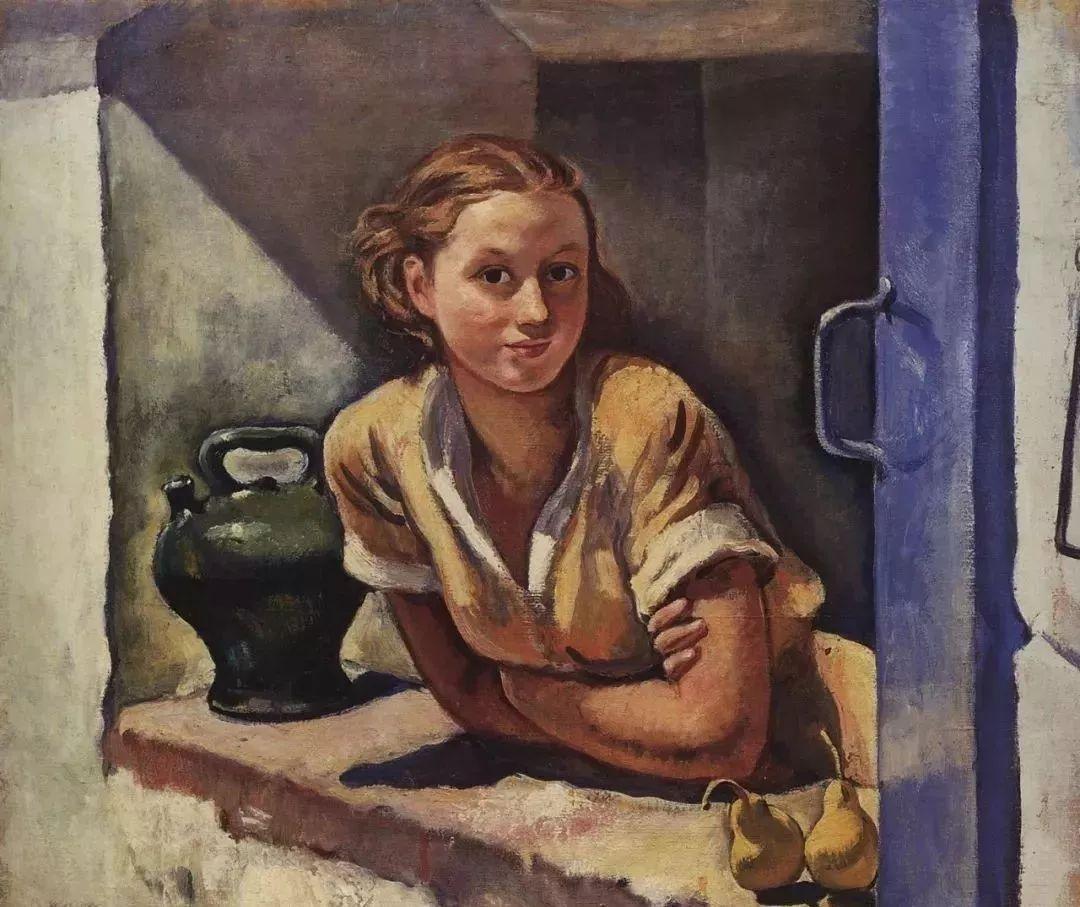 俄罗斯第一位女性画家Zinaida Serebriakova插图19