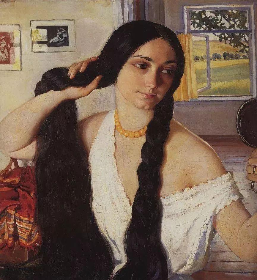 俄罗斯第一位女性画家Zinaida Serebriakova插图21