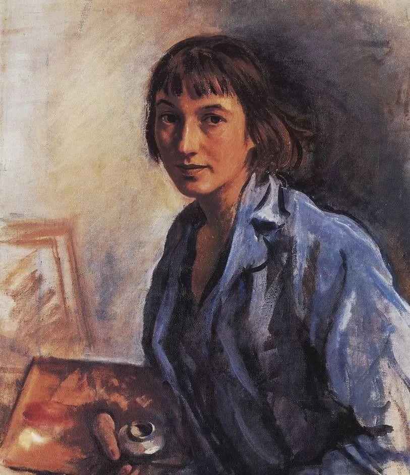 俄罗斯第一位女性画家Zinaida Serebriakova插图23