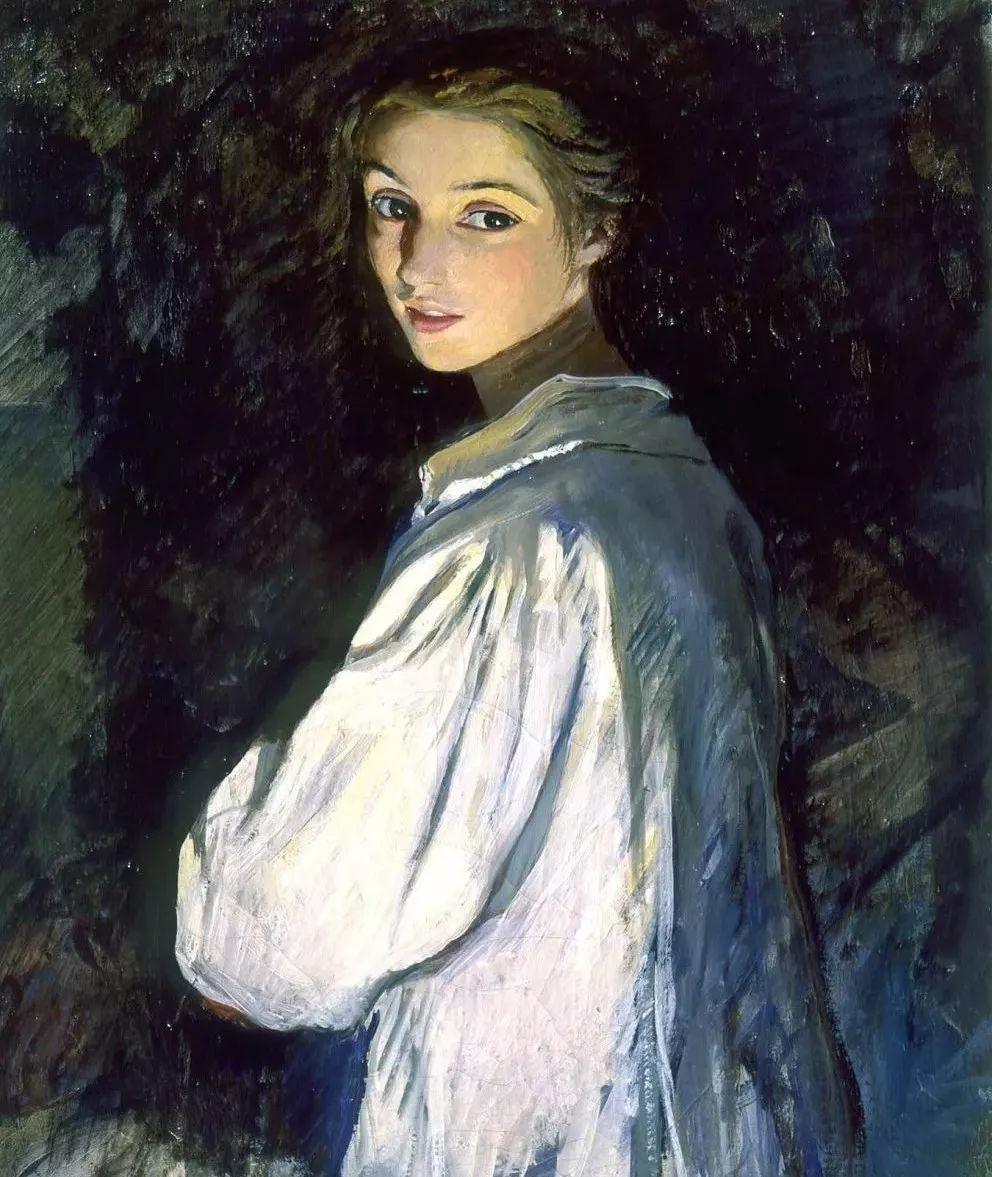 俄罗斯第一位女性画家Zinaida Serebriakova插图27