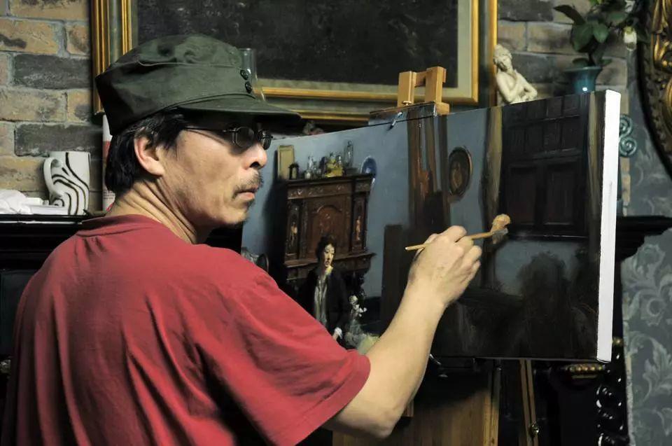 """""""写实派""""画家冷军,6000万画作被质疑,专家:和照片有啥区别?插图65"""