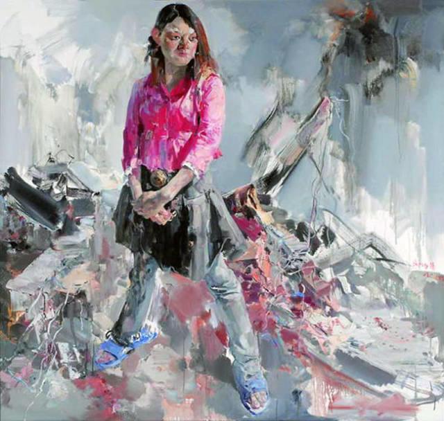 """当代油画""""写实意象派""""的代表——张延昭插图49"""
