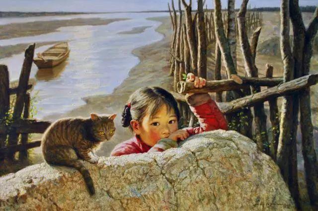 油画里的童年时光插图3
