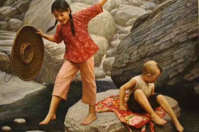 油画里的童年时光插图5