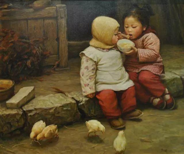 油画里的童年时光插图9