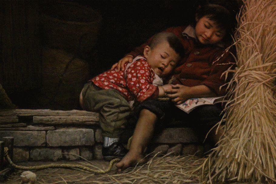 油画里的童年时光插图11