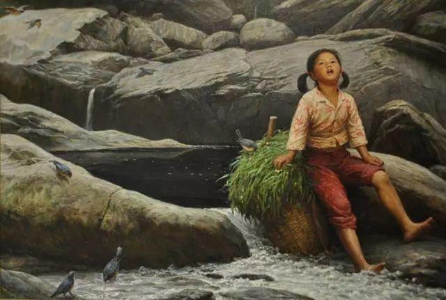 油画里的童年时光插图13