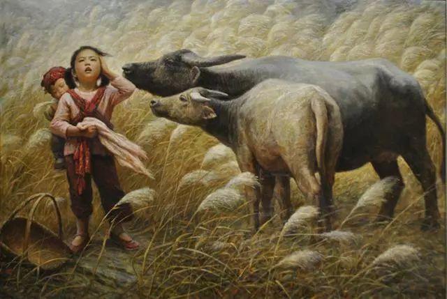 油画里的童年时光插图15