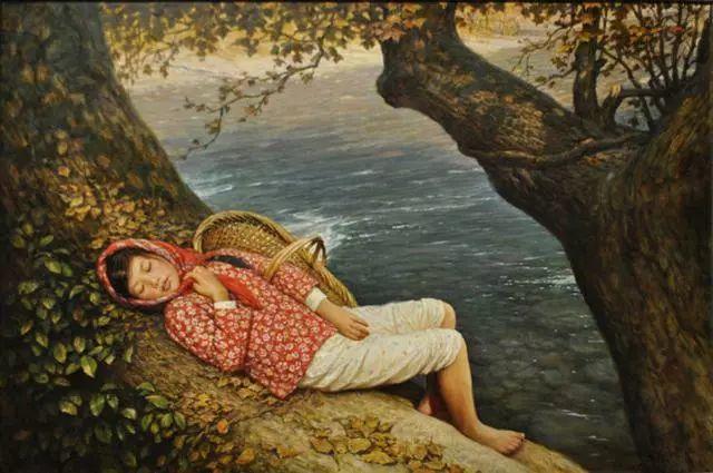 油画里的童年时光插图17