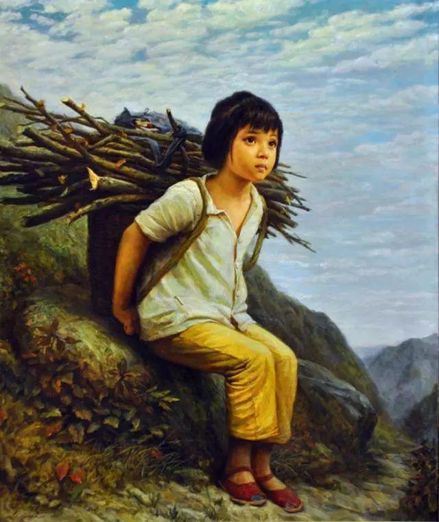 油画里的童年时光插图19