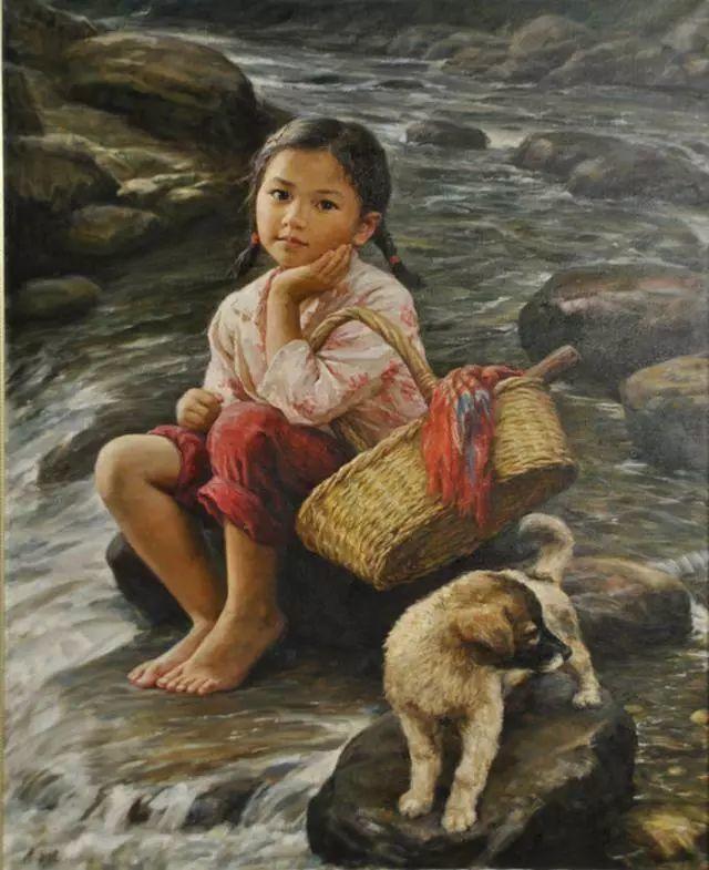 油画里的童年时光插图21