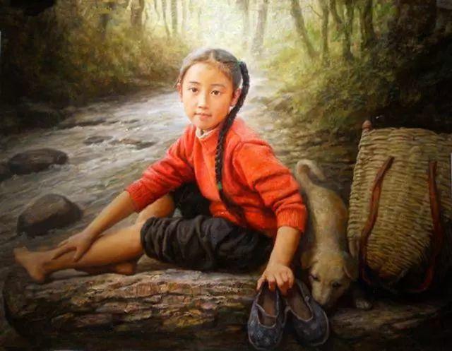 油画里的童年时光插图23