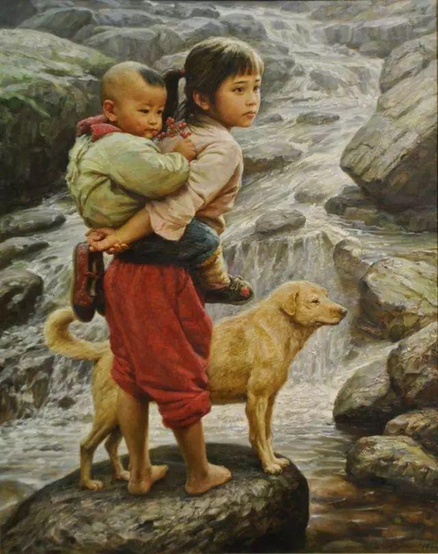 油画里的童年时光插图27