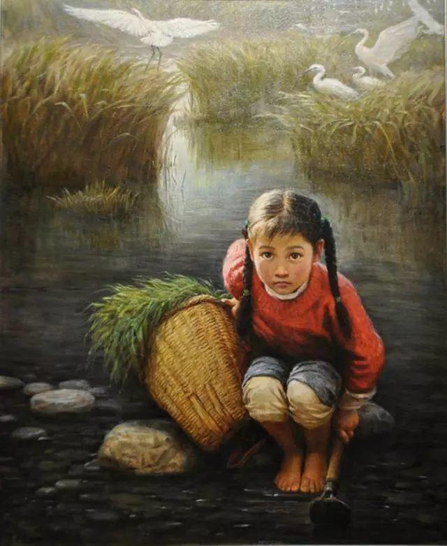 油画里的童年时光插图29