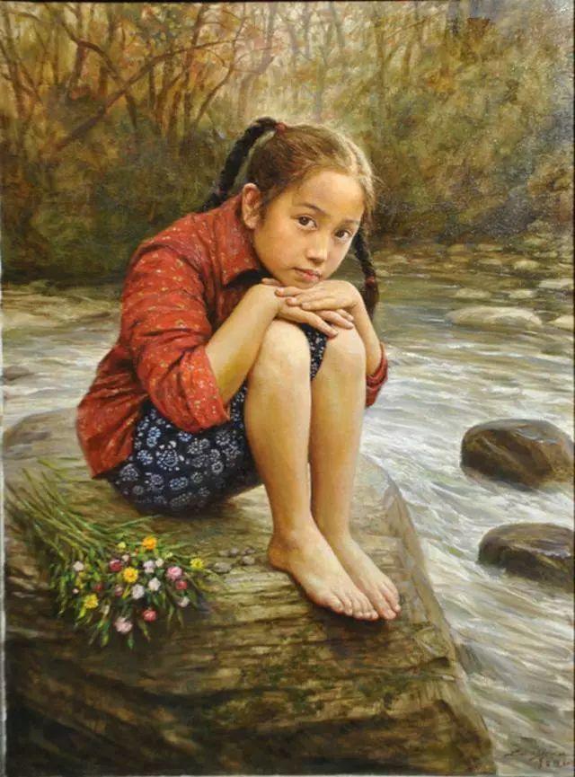 油画里的童年时光插图31