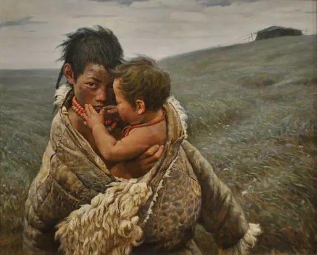 油画里的童年时光插图33
