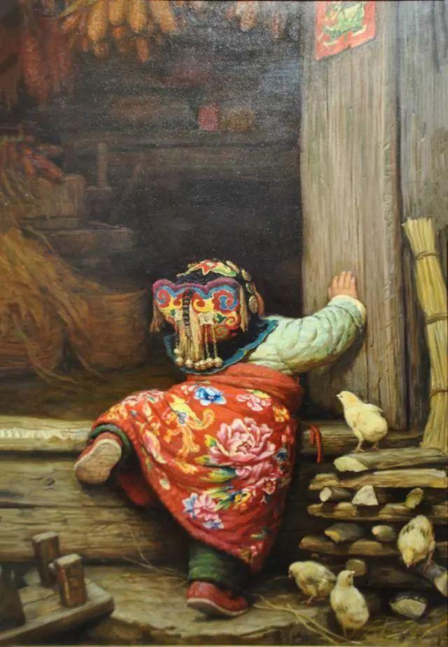 油画里的童年时光插图35