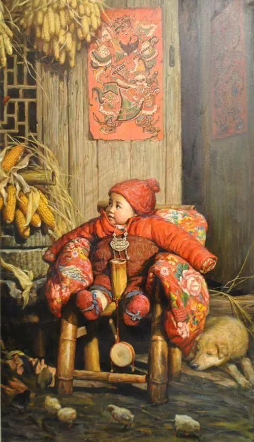 油画里的童年时光插图37