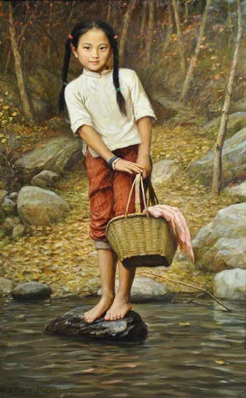 油画里的童年时光插图39