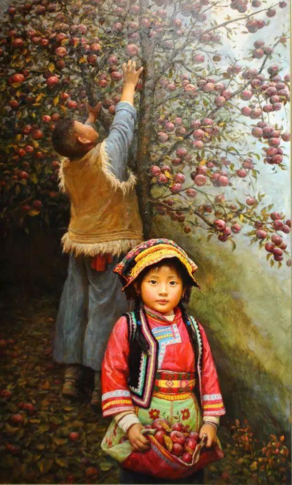 油画里的童年时光插图45