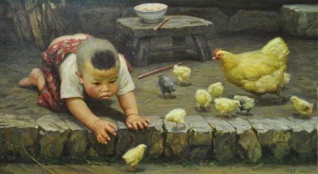 油画里的童年时光插图47