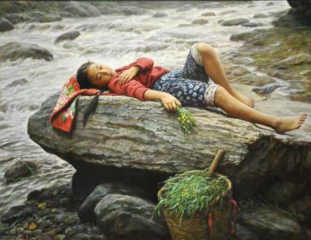 油画里的童年时光插图49